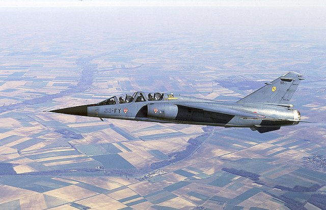 Paramount Group purchases four ex French Air Force Mirage F1B jet trainers 640 001
