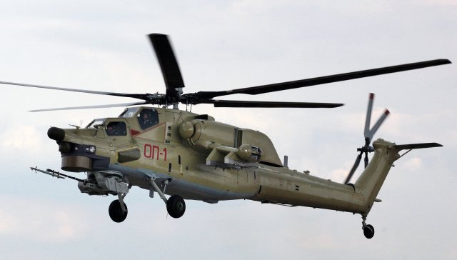 Russian Helicopters Mi 28UB combat training helicopter ready for full rate production 640 001