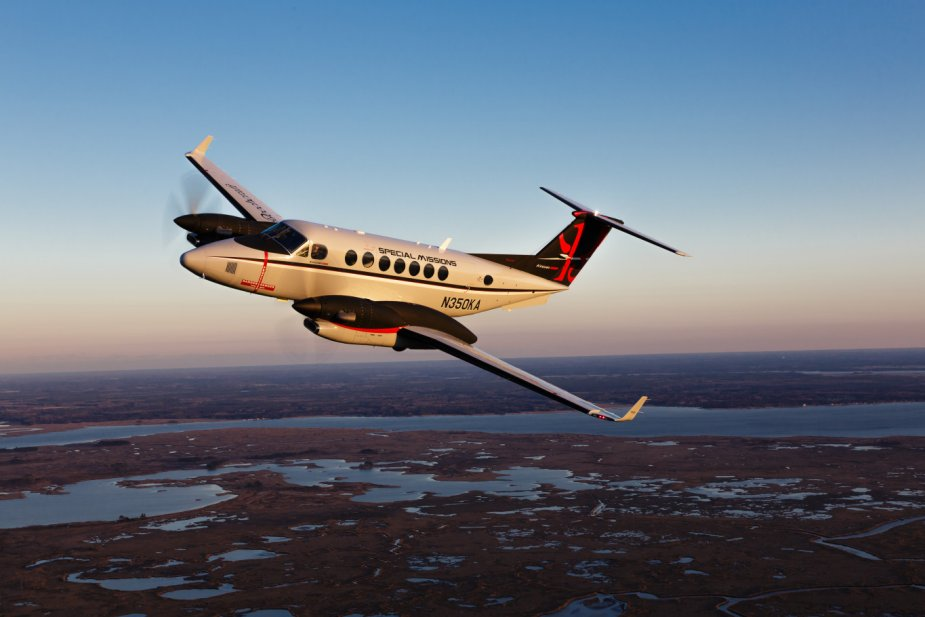 King Air 350ER ISR for Kuwait