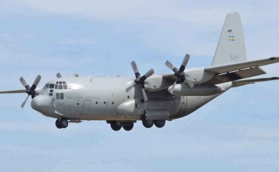 US contract for Swedish C 130 fleet support