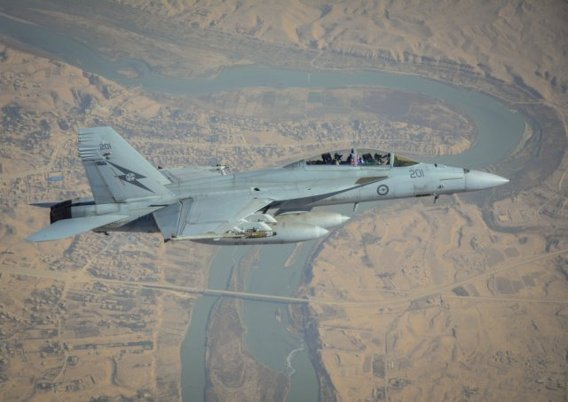 Australian combat jets fly final strike mission over Iraq 640 001