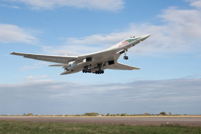 Belgian Air Force scrambles f16s to intercept Russian Tu 160 bombers over North Sea 640 001