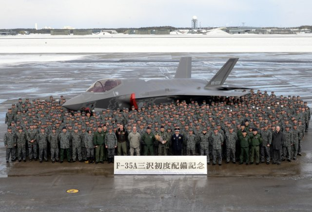 Japan deploys first F 35A fighter jet at Misawa AB 640 001