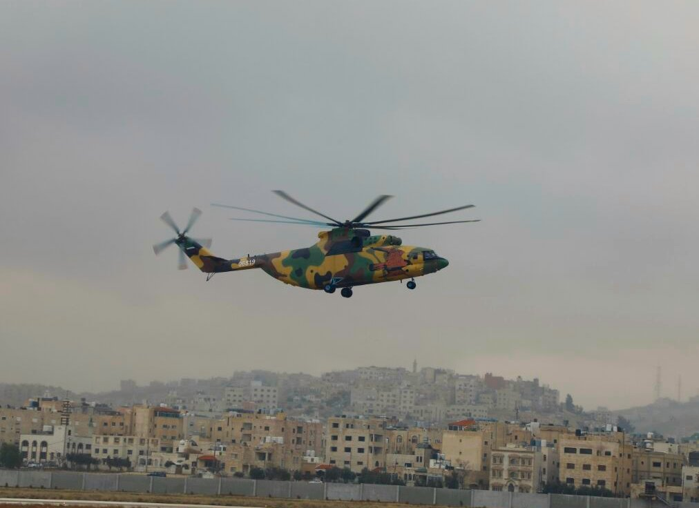 Jordan receives first of four Mi 26T2 heavy lift helicopte 640 001
