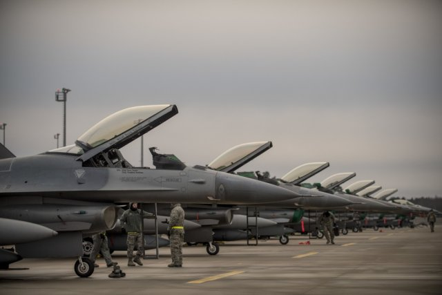 US Air Force deploys new Theater Security Package in Estonia 640 001