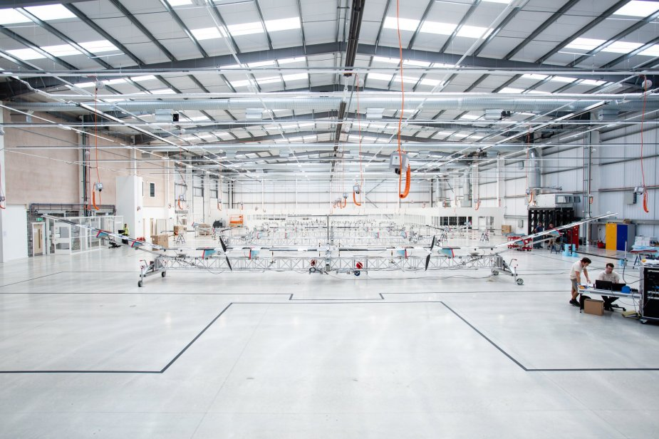Airbus opens first Zephyr HAPS serial assembly line 001