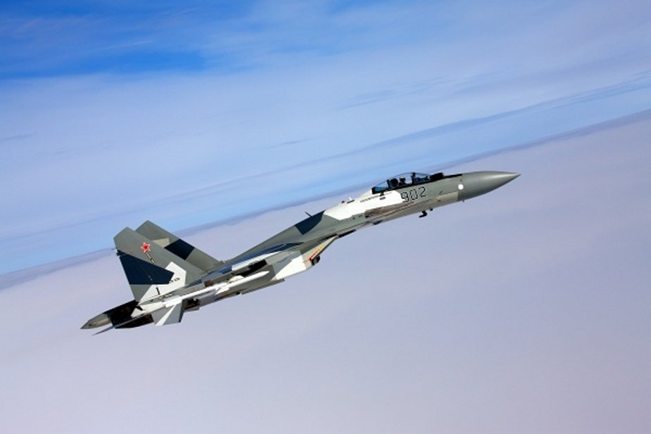 Russia Karelia Air Regiment reinforced with new Su 35S fighter jets 001