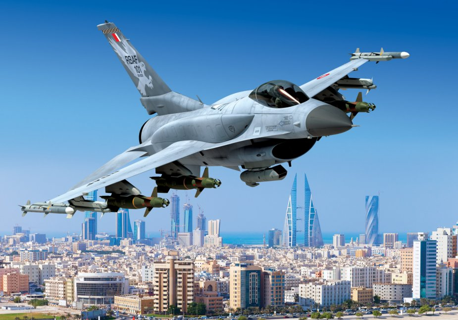 Lockheed Martin lands US for barhain F 16 001