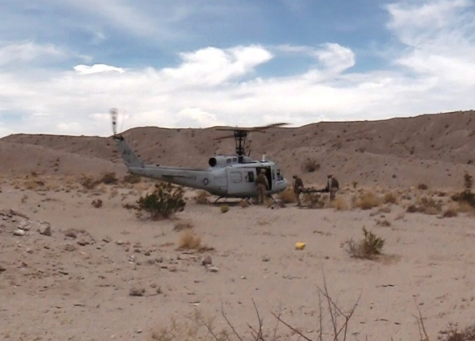 Aurora AACUS unmanned helicopter complete first Operational Cargo Delivery to USMC 001
