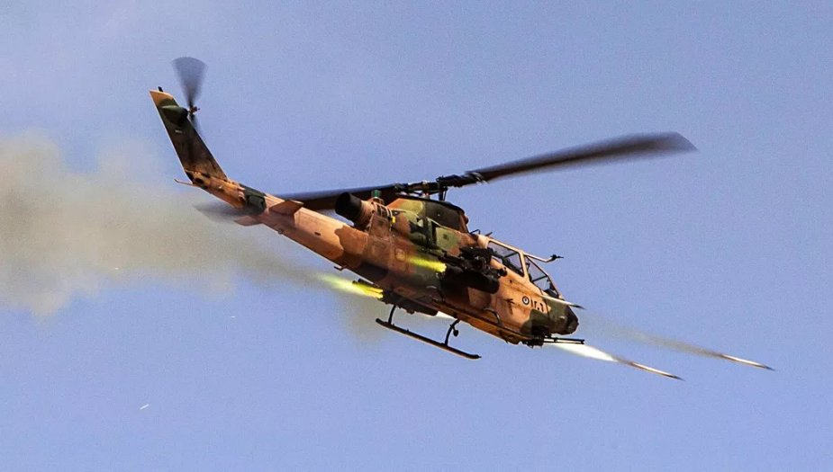 Jordan offers two Bell AH 1F Cobra attack helicopters to the Philippines