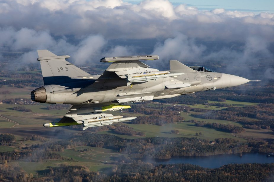 Saab Gripen E completes first test flight with Meteor missile