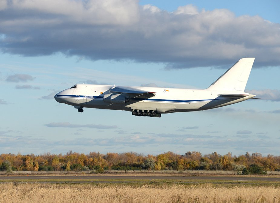Aviastar hands overhauled An 124 100 airlifter to Russian Air Forc 001
