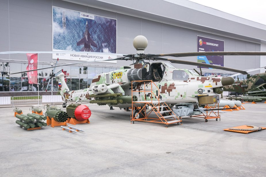 Berkuty demo team plans to switch to Mi 28NM helicopter 001