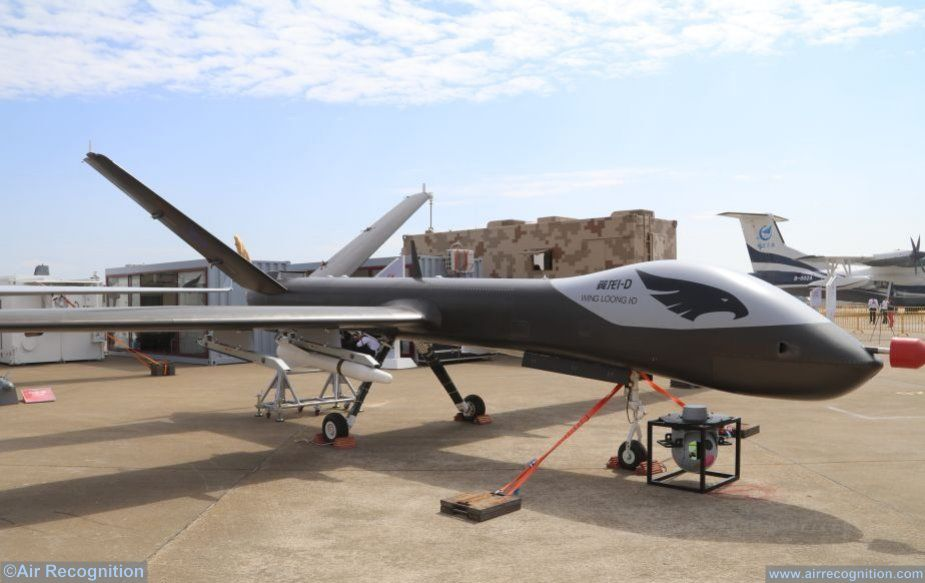 AVIC launches I D version of Wing Loong UAS at AirShow China 2018 Zhuhai 925 001