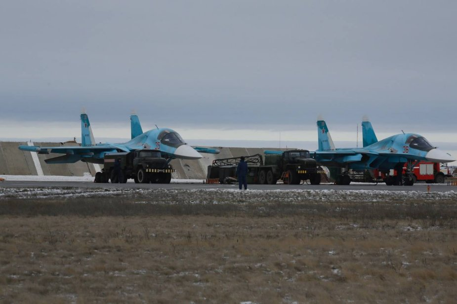 More Su 34 bombers delivered to RussiaChelyabinsk air regiment