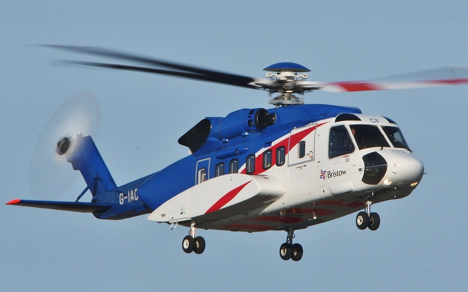 Sikorsky S 92A helicopter certified for expanded Brazil operations