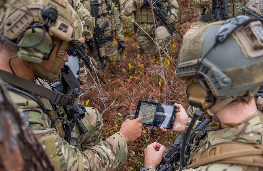 US Air Force Navy and Army conduct first real world test of Advanced Battle Management System