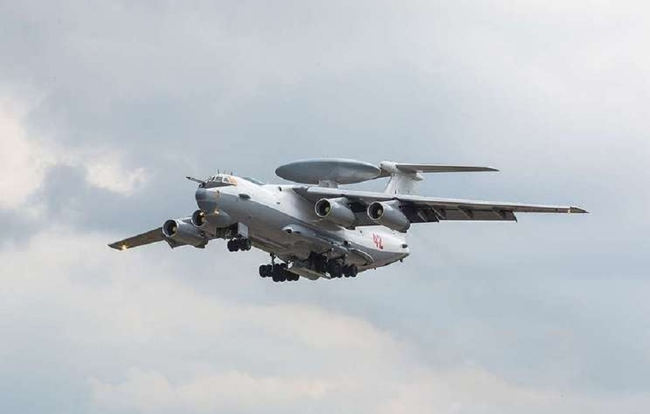 Russias Aerospace Force gets sixth upgraded A 50U radar surveillance aircraft