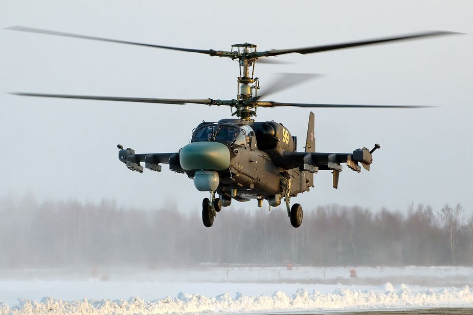 Russia to buy 114 upgraded Ka 52M attack helicopter