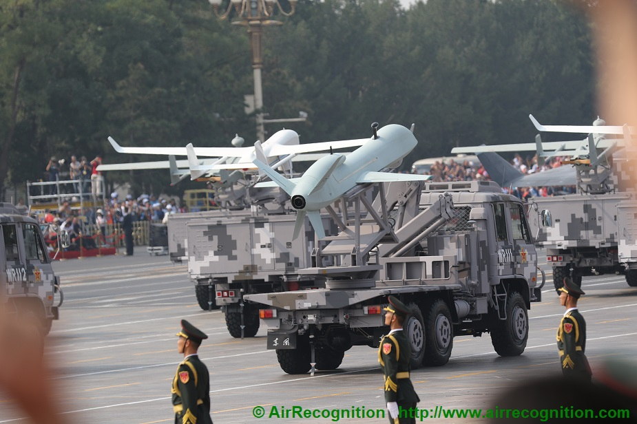 Analysis China exhibits advanced drones in military parade complete list 03