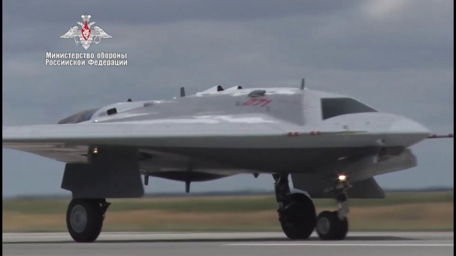 Okhotnik drone to engage in reconnaissance strikes part 1