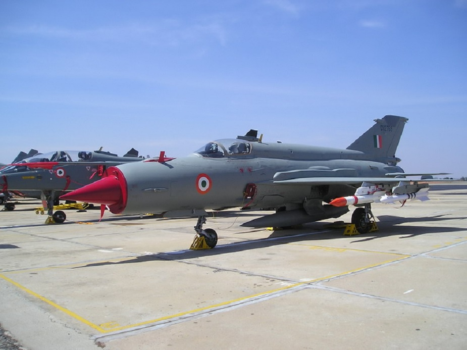 IAF operates upgraded MiG 21 fighter jets