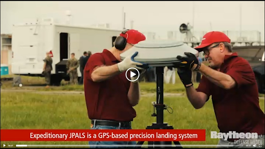 Raytheons F 35 precision landing system can be set up anywhere in less than 1.5 hours VIDEOPIC