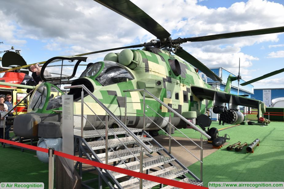 Russia invests in modernization of Mi 24 helicopter