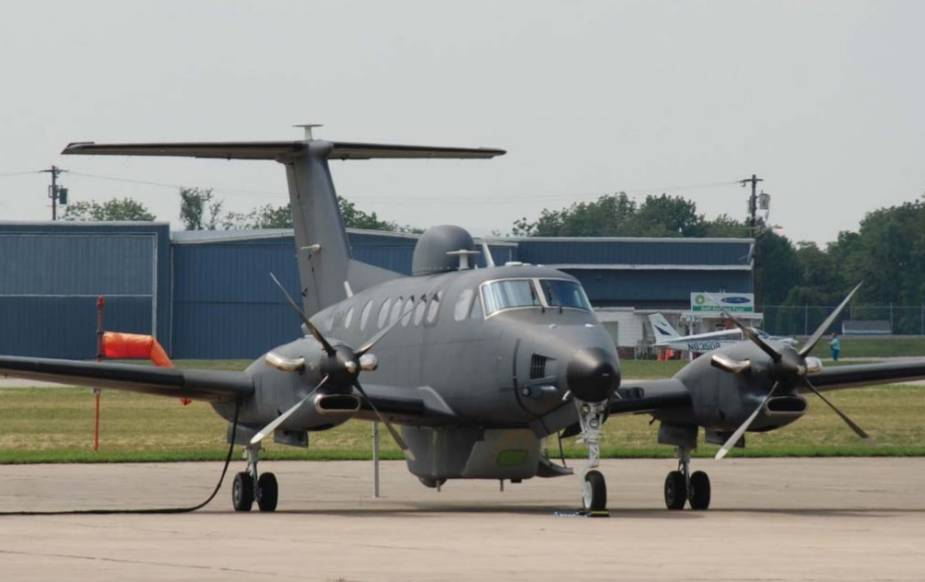 Kazakhstan buys 3 King Air B300ER Scorpions with ISR systems