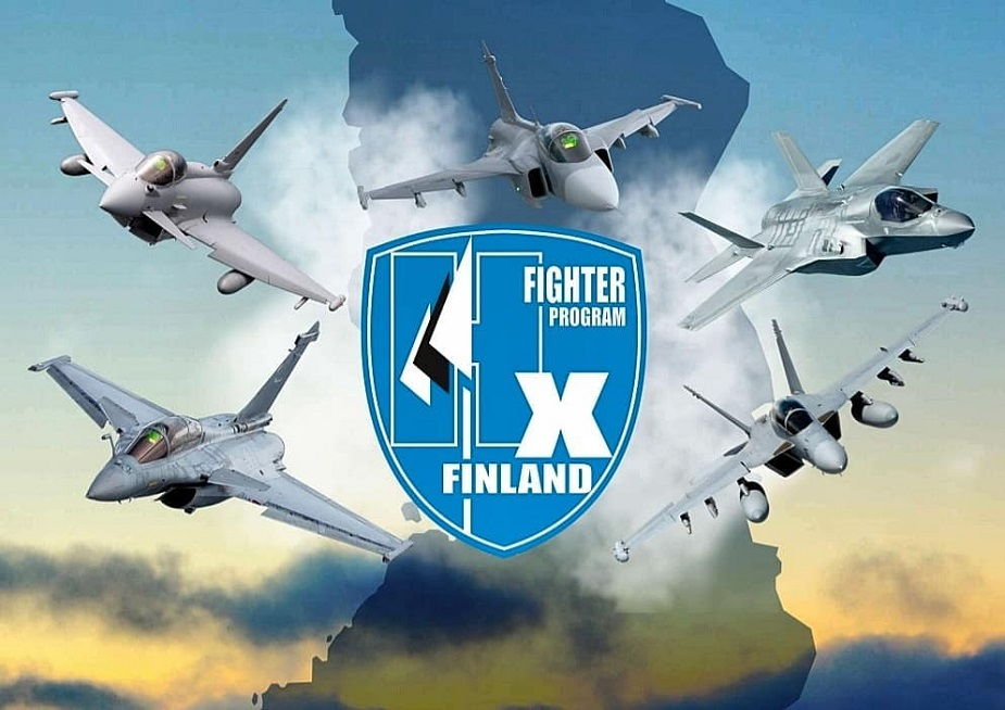 Finnish Air Force tests 5 different fighters
