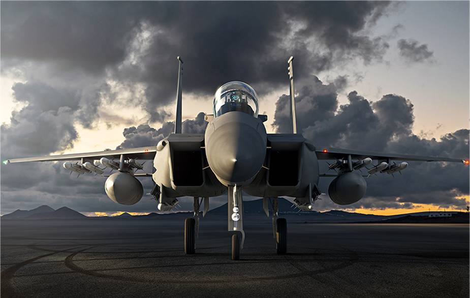Analysis and technical review of new Boeing F 15EX fighter aircraft for US Air Force 925 001
