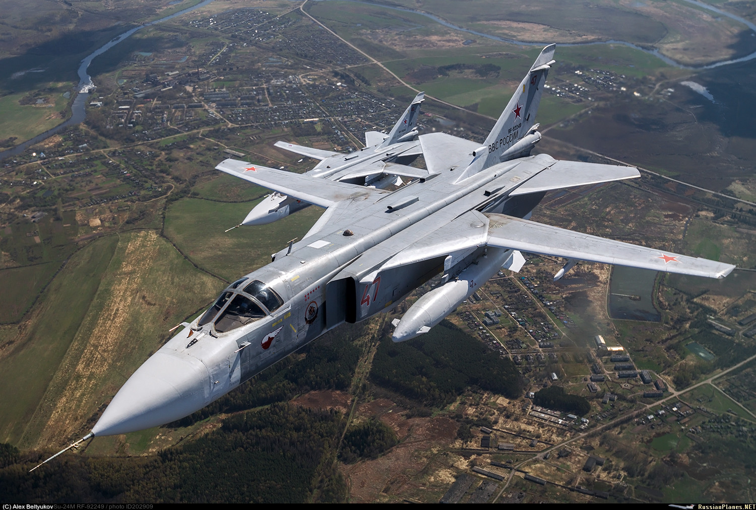Naval Sukhoi Su 24M to get SVP 24 Gefest sighting system