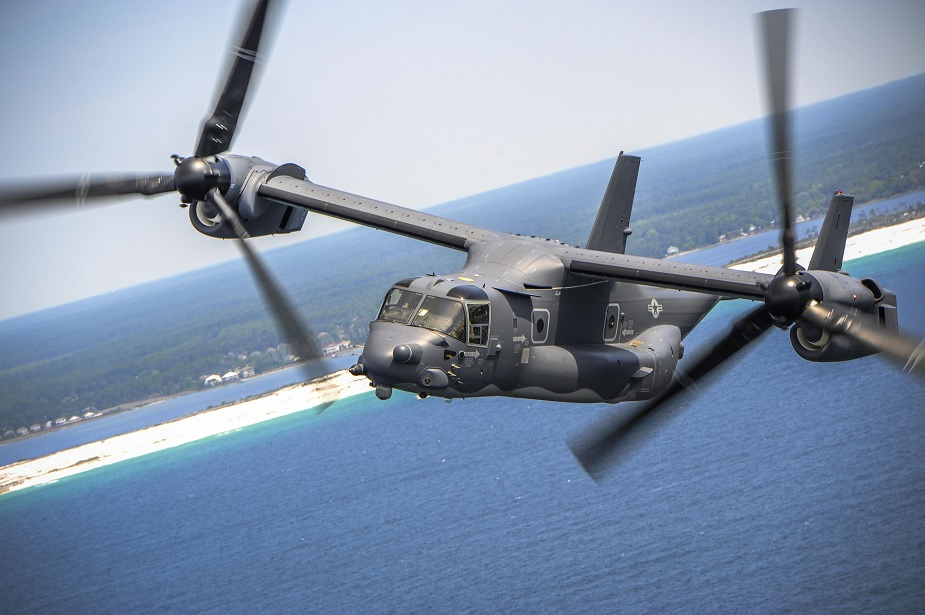 USA approves sales for MV 22 Block C Osprey aircraft to Indonesia