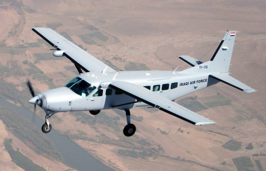 ATI Engineering will provide two Textron C 208 EX aircraft to Rwandan Air Force 925 001