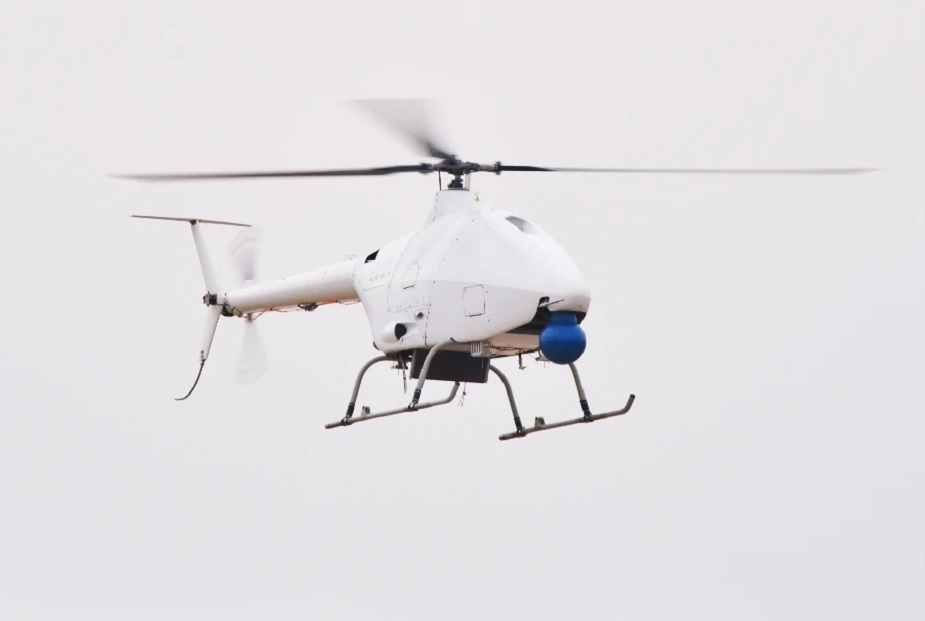 China maiden flight of AR500C Unmanned Helicopter