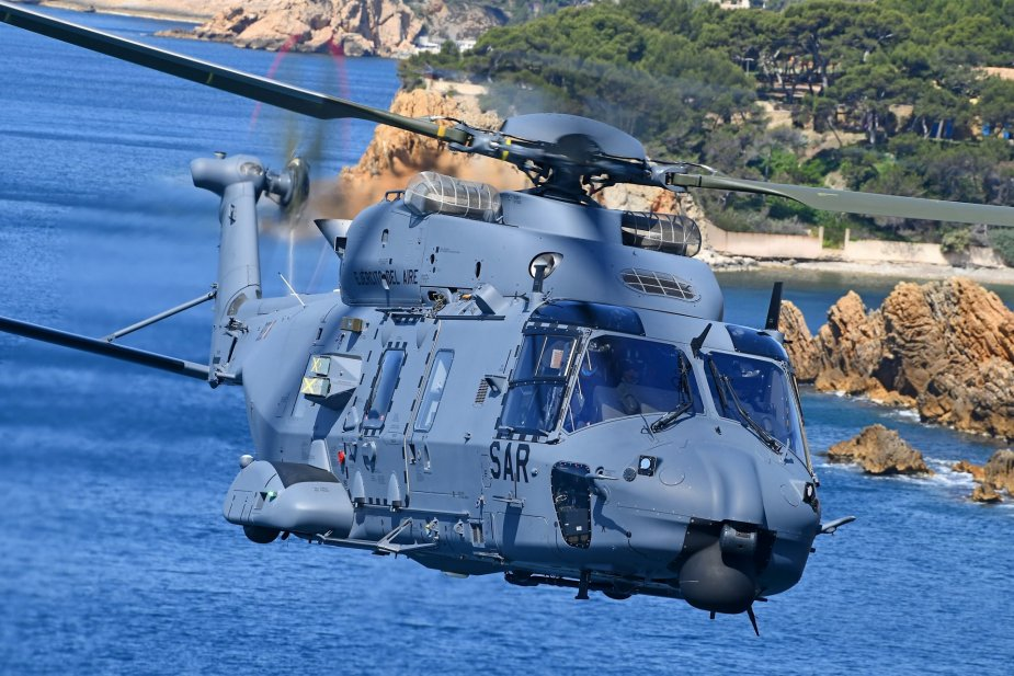 First NH90 delivered to the Spanish Air Force for search and rescue missions