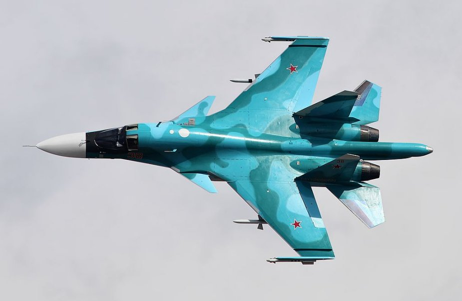 Russian Su 34 bomber pilot training to be expanded