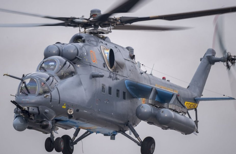 Analysis Russia launches batch production of Mi 35P helicopter 925 001