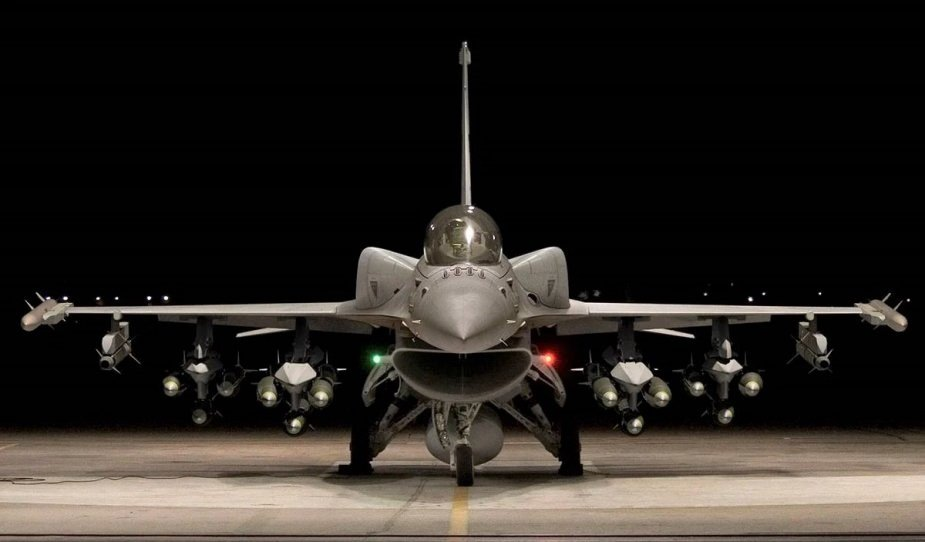 Lockheed Martin F 16 Fighting Falcons produced only in Viper version 2