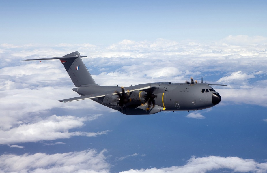 18th French A400M transport aircraft arrives with new capabilities 01