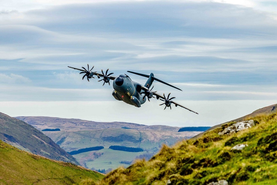 18th French A400M transport aircraft arrives with new capabilities 03