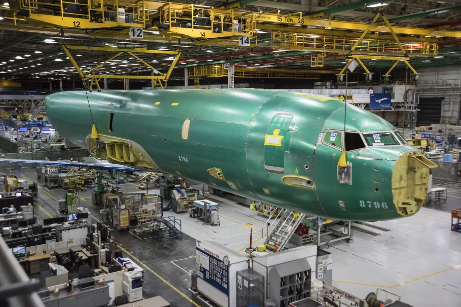 First Norwegian P 8A aircraft moves into assembly