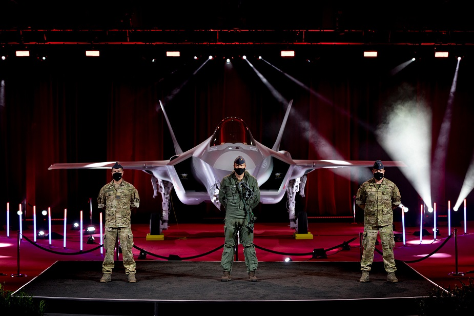 Lockheed Martin and Royal Danish Air Force celebrate debut of first Danish F 35 aircraft 01