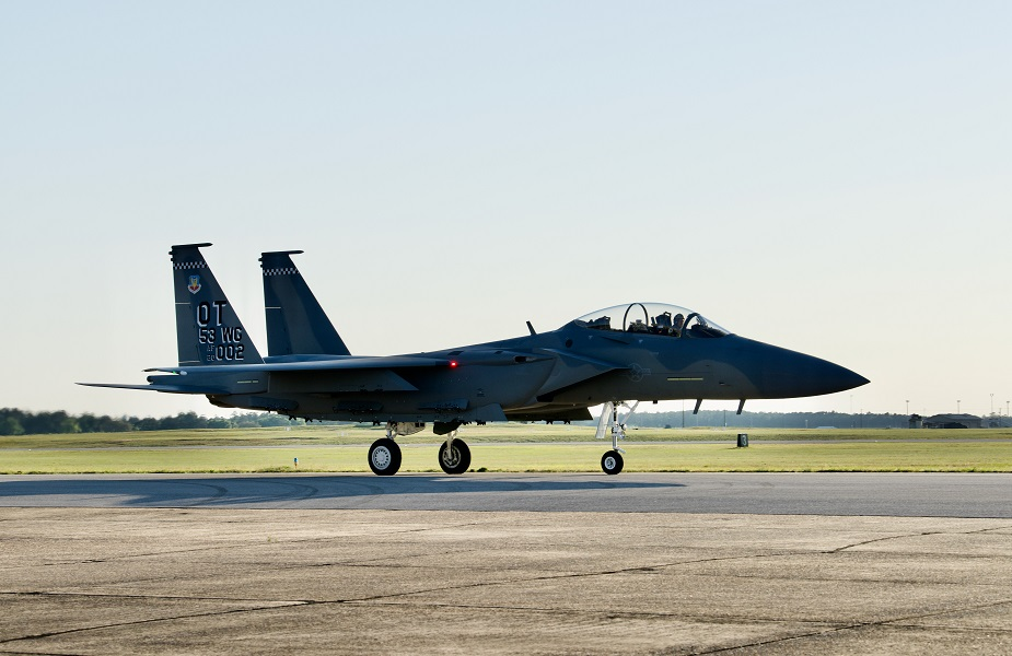 Second F 15EX delivered to US Air Force