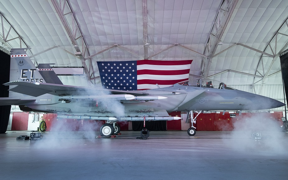 US Air Force names its newest fighter F 15EX Eagle II 02