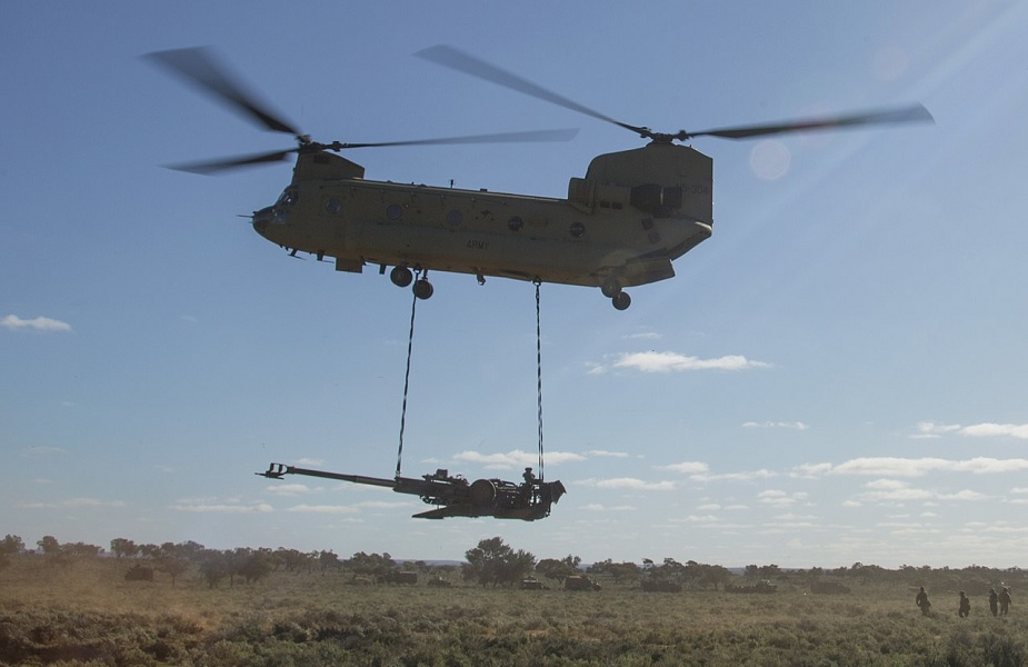 US approves foreign military sale of CH47F Chinook helicopters to Australia