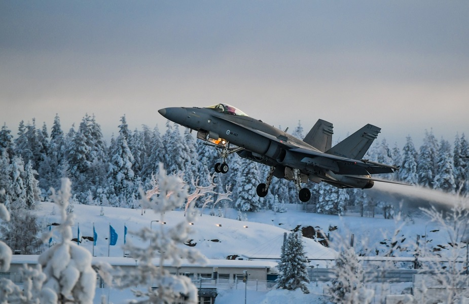 Finland Lapland Air Command to conduct Talvinorva 21 exercise