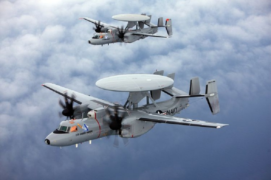 France signs agreement to purchase Northrop Grummans E 2D advanced Hawkeye