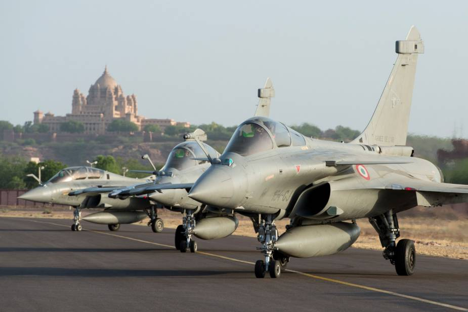 French and Indian Air Forces hold joint exercises in Jodhpur