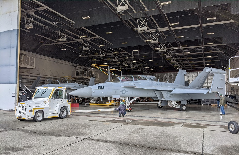 First EA 18G inducted for Growler capability modification 01